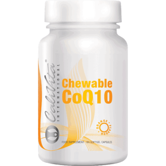 Chewable Co Q10 Orange Flavour