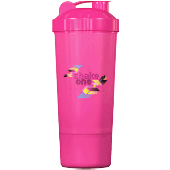 One Diet Shaker – roz 350 ml