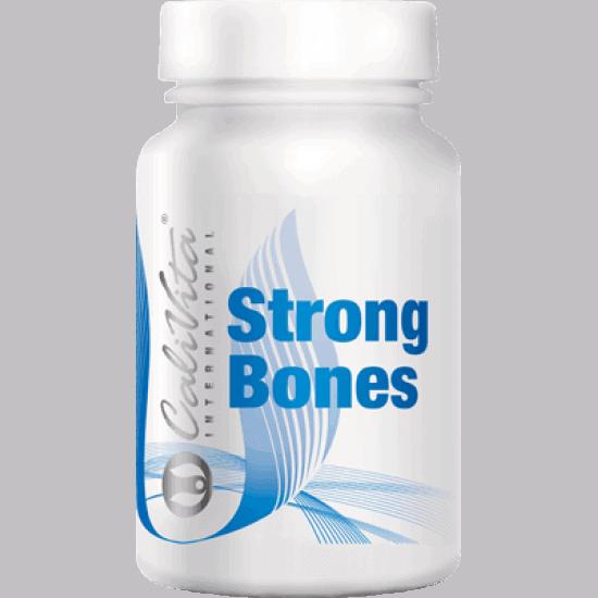 Strong Bones Calcium si Magnezium – 100 capsule